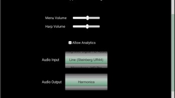 HarpNinja Diatonic Harmonica - android_tablet4