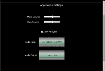 HarpNinja Diatonic Harmonica - android_phone3